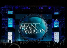 MAN ON THE MOON multimedia show by Rudolf Stritecky